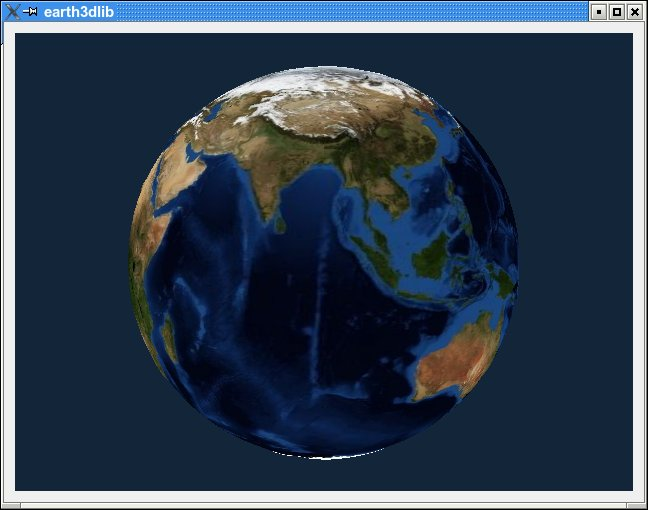 Earth3d Lib Window